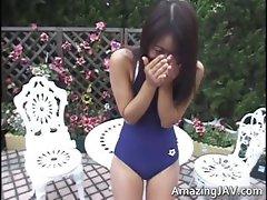 Cute asian teenage girl gets tortured part4
