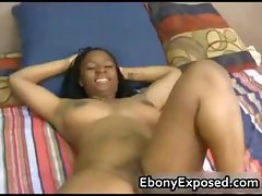 Eunique in busty first blowjob part3
