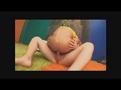 Hairy Blond hunk Klaus barebacks twink