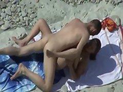 HidCams BEACH COUPLE FUCKS - NV