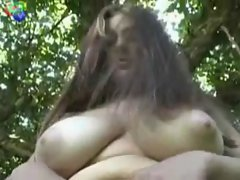 Hairy BBW Ex Girlfriend showing hairy armpits and Pussy