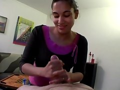 4 Amateur Girls Give a Hand Job - Cireman