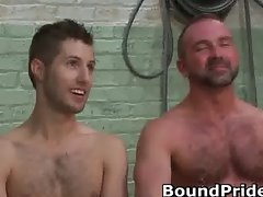 Josh and Kyler hunky studs extreme BDSM part3
