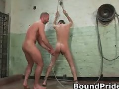 Josh and Kyler hunky studs extreme BDSM part1