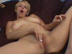 Missy Monroe Masturbating while watching porn