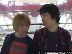 Unexpected Gay fun at the amusement park