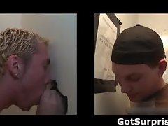 Straight men gets gay surprise cock suck part4