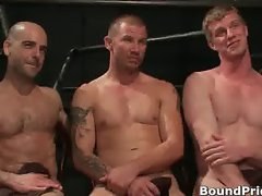 Brenn, Adam and Blake in horny extreme part1