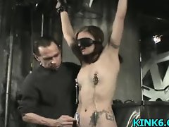 Babe caned and humiliated