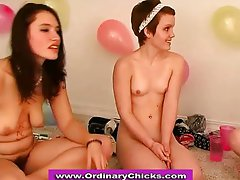 Watch this hot all girl orgy