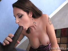 Mandy Sweet loves big black dick