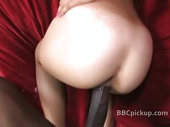 Huge black cock POV blowjob