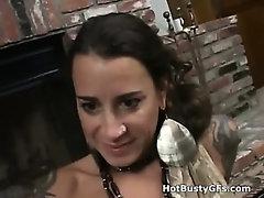Juicy Big Tits POV Handjob