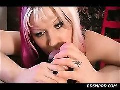 Femdom Slap Masturbate And Chastity