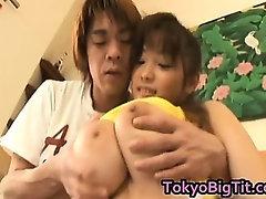 An Takahashi  Japanese Model Has A Huge