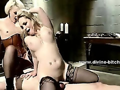 Kinky woman using her power to dominate and fuck poor man slave in dominatrix sex video