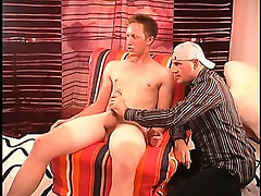 Str8 tall hung red head is back for a second time. This time I get to blow the college jock big cock