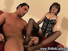 British lingerie whore Lady Sonia