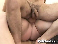 Gay Men Anal Fucking With Cum Felching