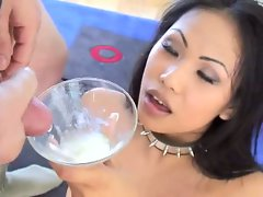 Veronica Lynn loves the taste of man juice so much she works hard for it