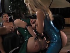 Kayden Kross and Bobbi Star do not stop until they are satisfied