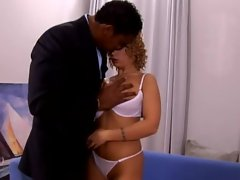 Luba Love takes it in her butthole for a big black piece of dick