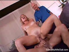 Horny Swinger Wife Is Screwed!