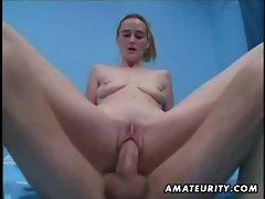 Amateur girlfriend homemade anal with cumshot in mouth
