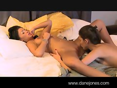 DaneJones She is wet for new girlfriend