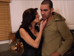Sassy Veronica Avluv torments this tasty hunk