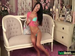 Hot Sexy Teen Babe Girl Masturbating On Cam movie-08