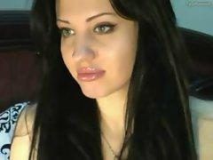 Webcam Model Oils Herself