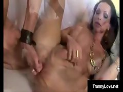 Cock hungry Carla takes anal punishment on all fours