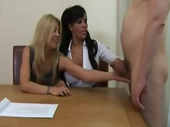 British vixens play a hardcore sex game