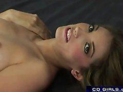 Jenna Haze riding the sybian
