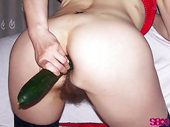 Hairy pussy exhibitionist 01