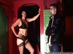 Sexy mature hooker gets ready to fuck