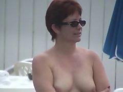 Nude Pool - Natural Redhead ?
