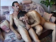 Big dicked old guy fucking a hottie