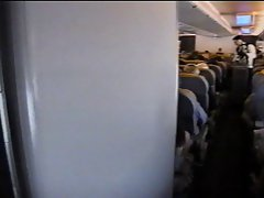 Sex In Airplane Toilet