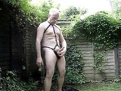 More Garden Play in my New Underwear