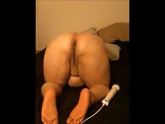 Big Butt Juicy BBW Slave Pose n Play