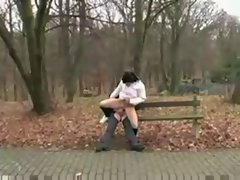 Old Man Fucks Dirty Teen Girl in the Park by snahbrandy