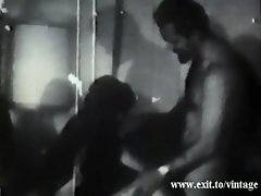 1929 Sex Party Vintage threesome