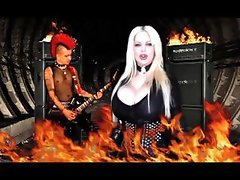 Sabrina Sabrok Rock Singer Largest Breast, Rebel Yell