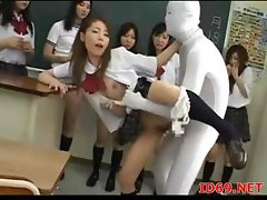 Invisible Guy In White Is Allowed To Use The Japanese Teen