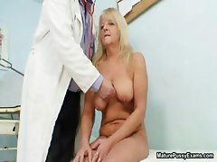 Grandma gets her tight pussy part5