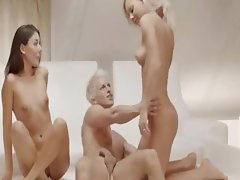 amazing Sweden blondes threesome
