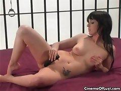 Spanish girl showing how masturbating part3