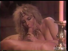Film with ancient setting as this blonde babe trades head and gets nailed